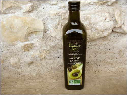 Oldcook : une bouteille d'huile d'olive bio