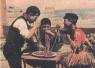 Oldcook: history of pasta - postcard: macaroni in Italy