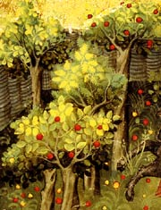 Oldcook: fruit in Europe, Middle Ages and Renaissance - orchard